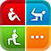 Azumio Fitness Trainer : 600+ exercises, 100+ home workouts, on-the-go personal fitness trainer by Fitness Buddy and Instant Heart Rate